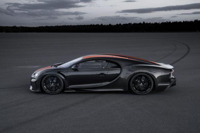 Bugatti Chiron record