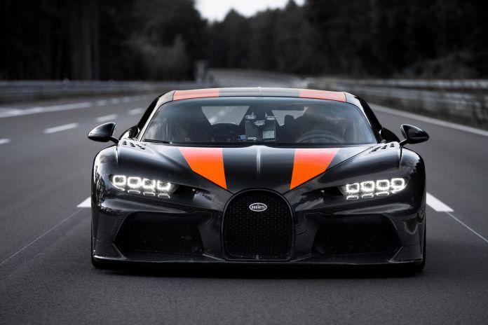 Bugatti Chiron Super Sport 300 Went Airborne During Record Run