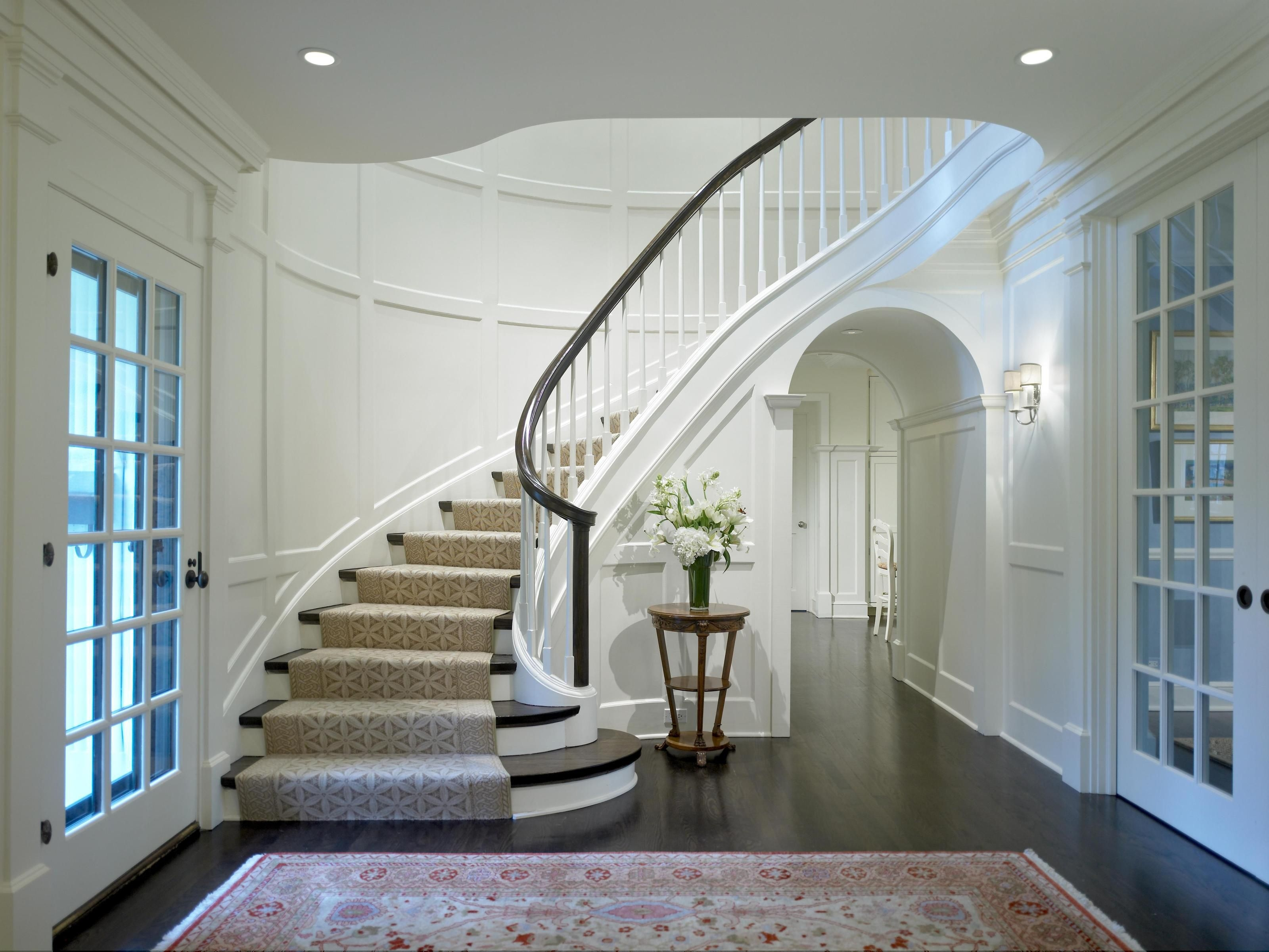 25 Stunning Carpeted Staircase Ideas Most Beautiful Staircase | Spiral Staircase Carpet Runners | Staircase Ideas | Staircase Railings | Stair Case | Beige Carpet | Sisal Stair