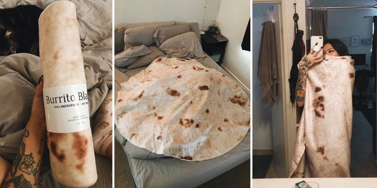 Wrap Yourself Up In A Tortilla Blanket Like The Burrito You Are