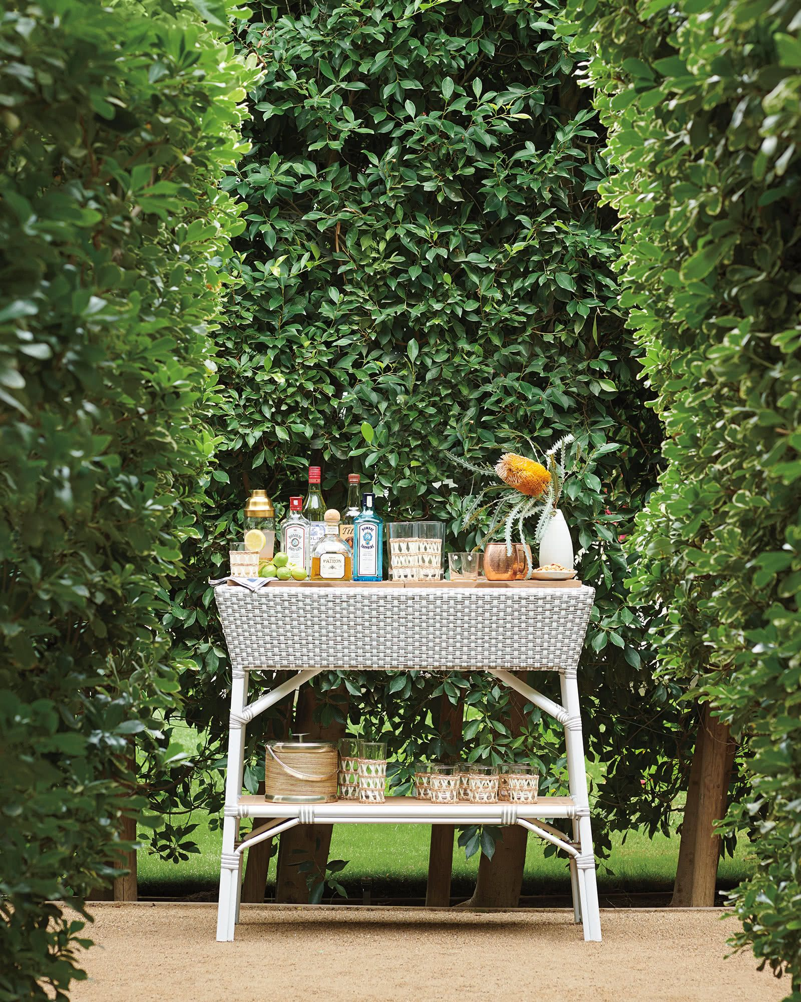 these are the best outdoor bar carts to keep in your backyard all summer long