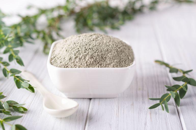 bentonite clay green tea