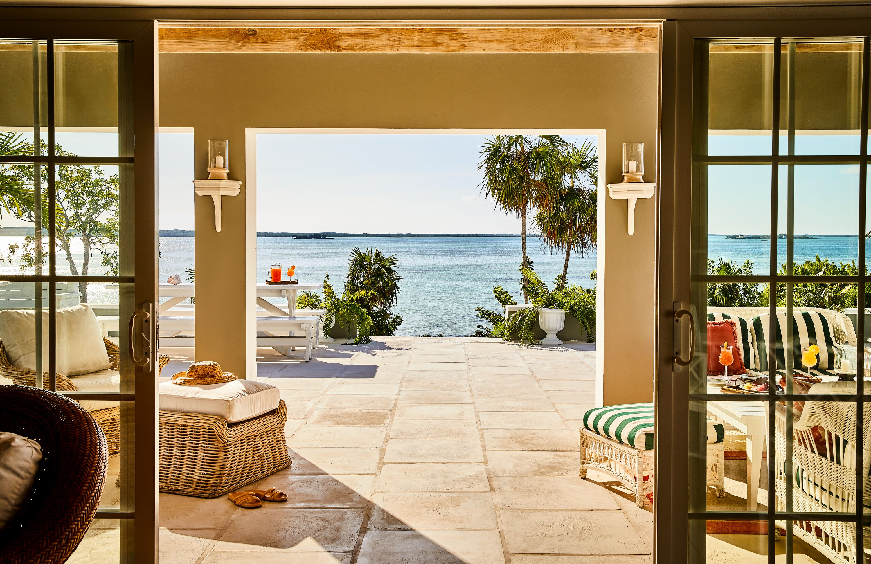 5 Ways To Transform Any Beach House Into A Serene Tropical Oasis
