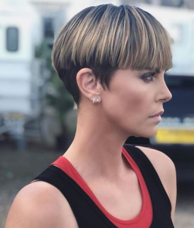 Charlize Theron as Cipher on Instagram