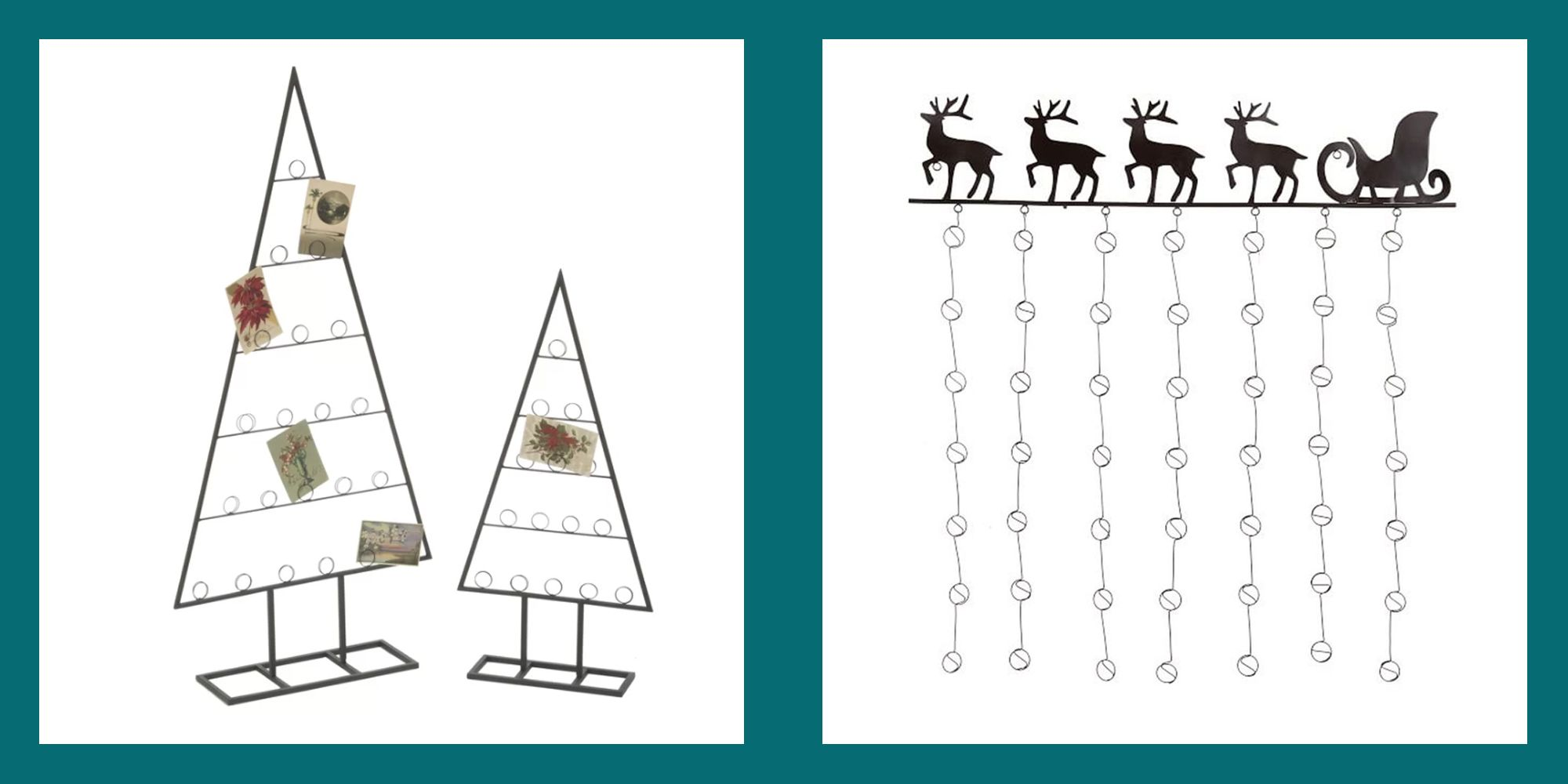 our favorite christmas card holders online right now