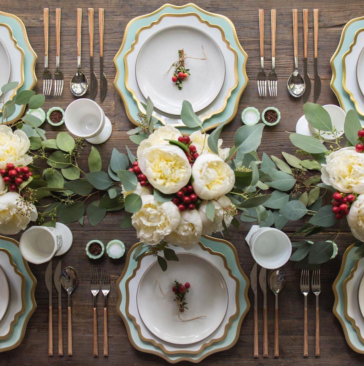 30 elegant christmas table settings