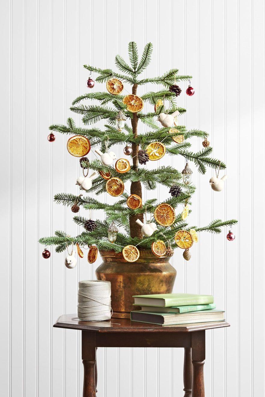 christmas decoration ideas citrus garland