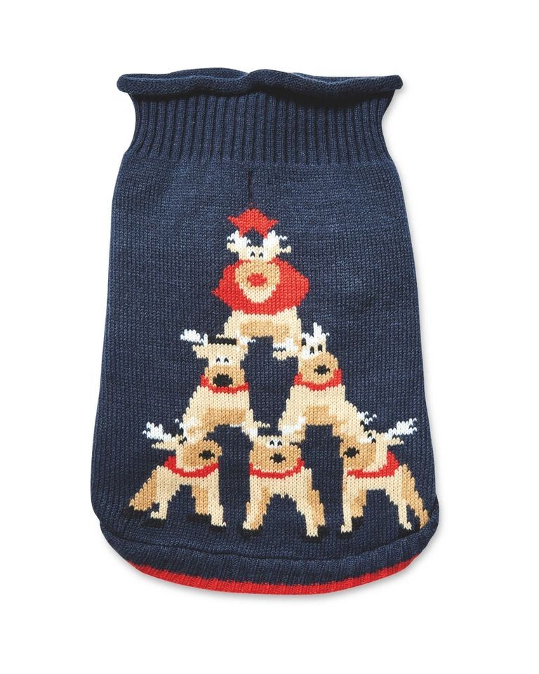 Christmas Jumper cane padrone