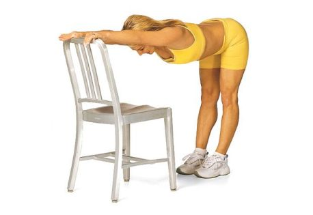 Lean Leg Stretch
