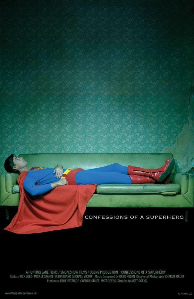 Confesiones de un superhéroe documental