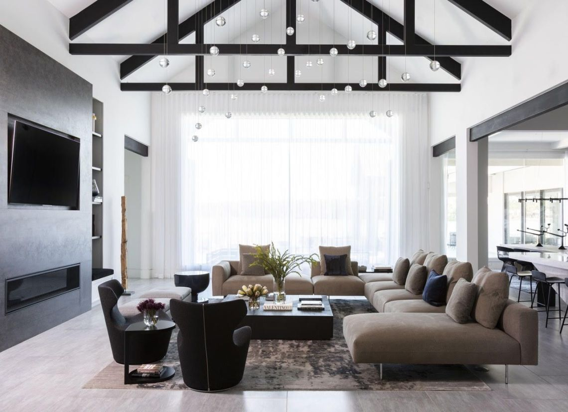 14 Best Modern Farmhouse Living Room Ideas To Try In 2021