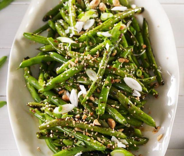 Image Brandon Bales Grilled Green Beans