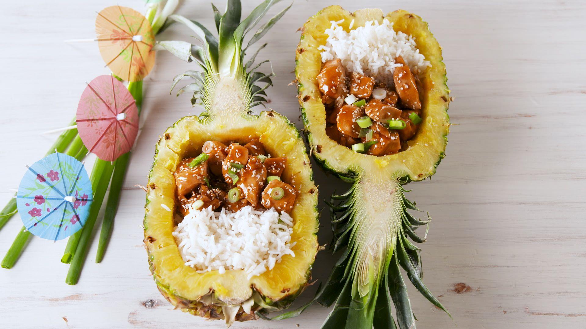 Best Chicken Teriyaki Pineapple Bowls Recipe How To Make