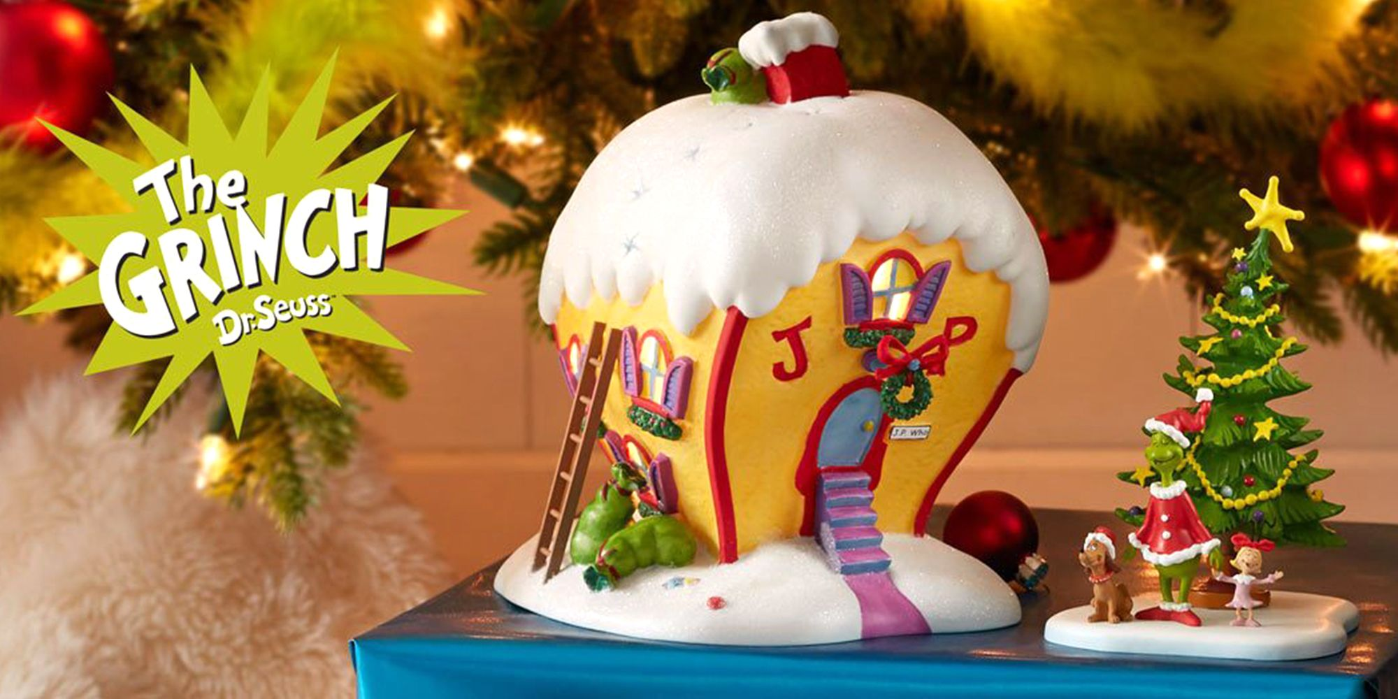 This Grinch Christmas Village Will Let You Construct