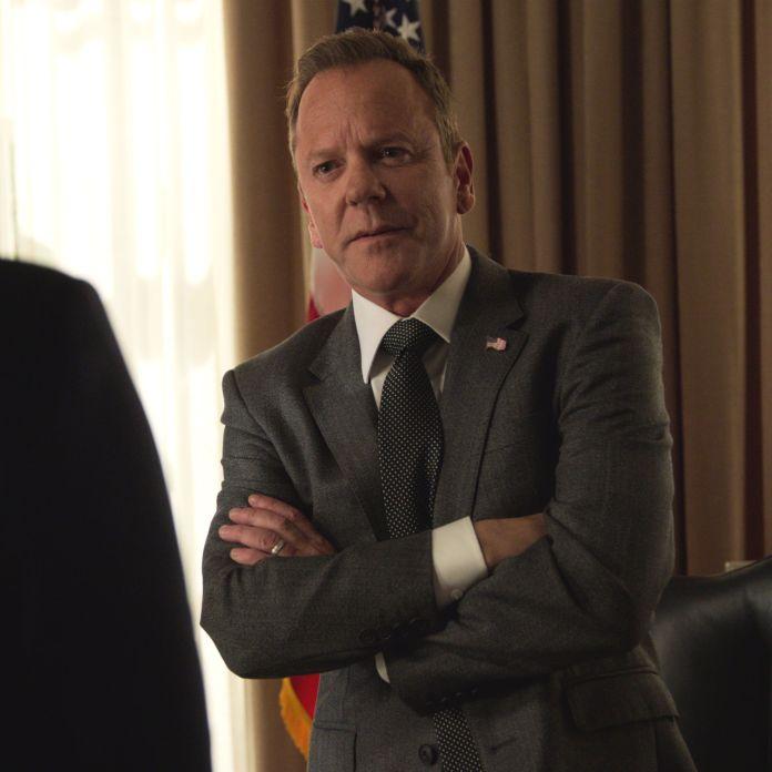 kiefer sutherland as president kirkman in a designated survivor on netflix