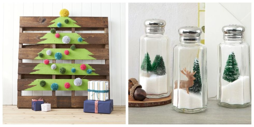 40+ DIY Homemade Christmas Decorations