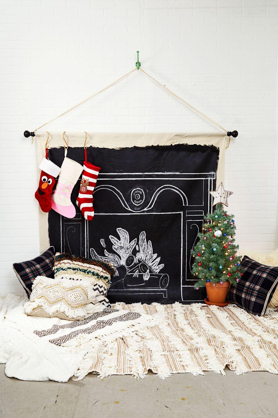 décoration d'appartement de Noël bricolage