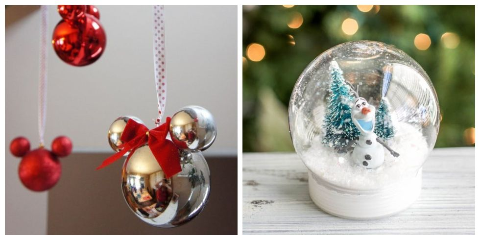 20 Disney Christmas Decorations DIY Disney Christmas