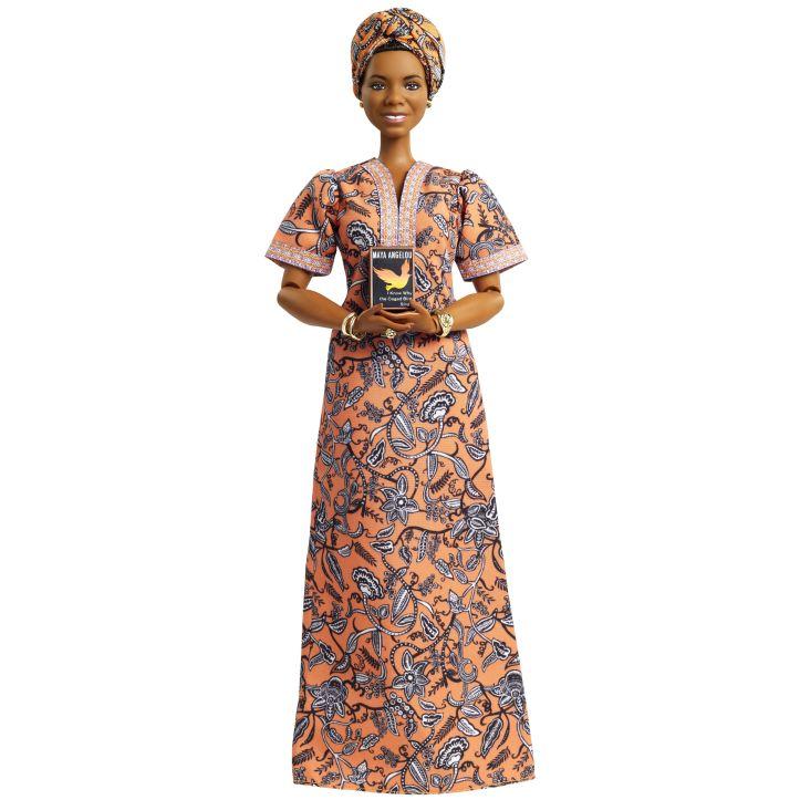 maya angelou barbie