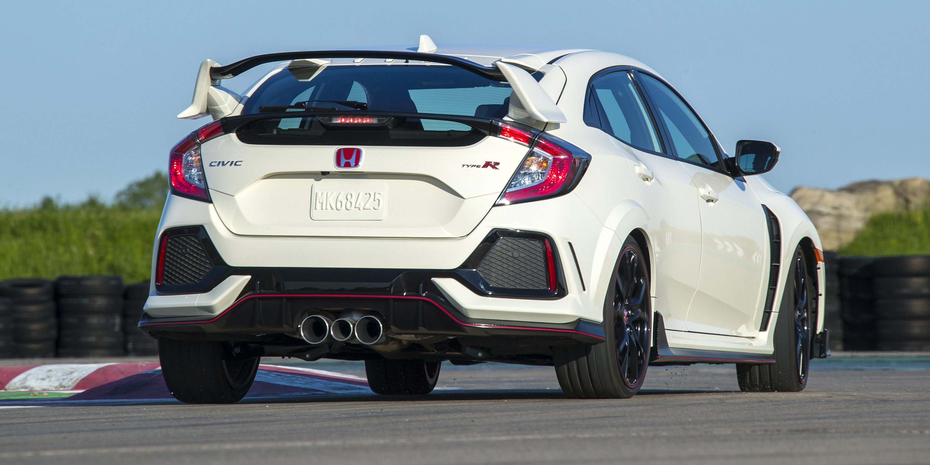 civic type r middle exhaust why the