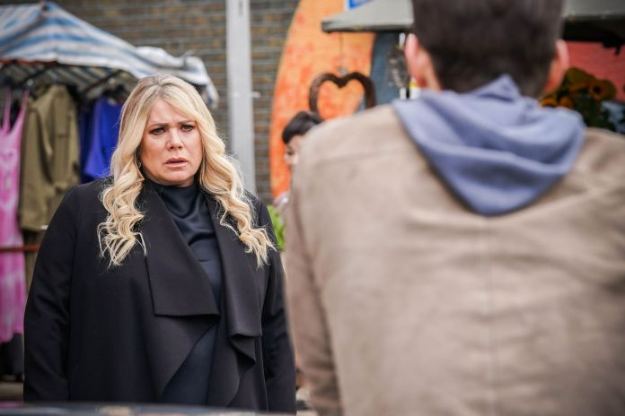 sharon watts and zack hudson in eastenders