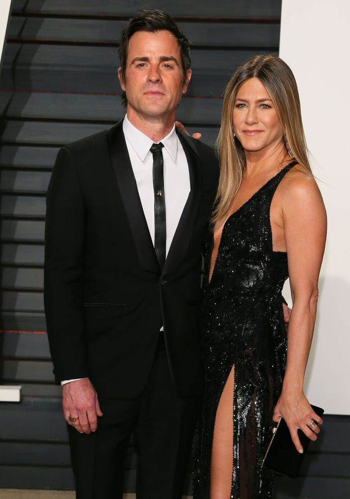 Jennifer Aniston Justin Theroux when they were a couple
