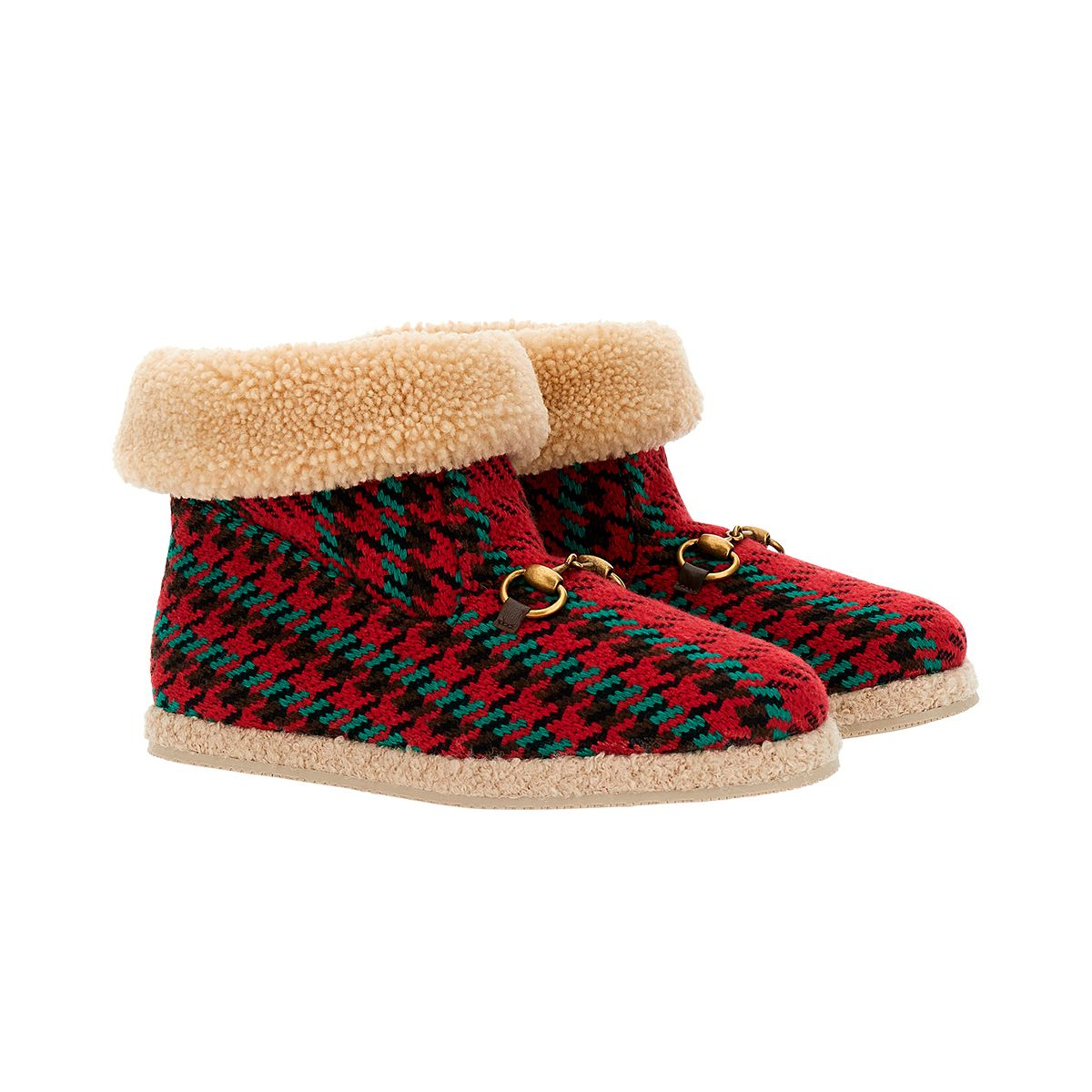 gucci red booties