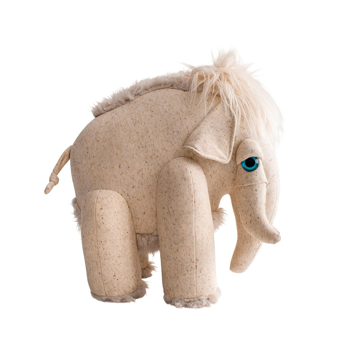 bigstuffed albino mammoth