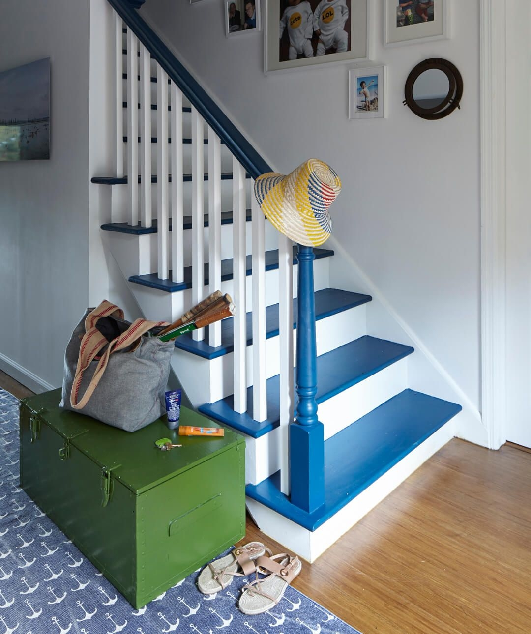 How To Paint Stairs The Right Way To Paint Stairs   Stair Wall Colour Design   Popular Stair Colour Schemes