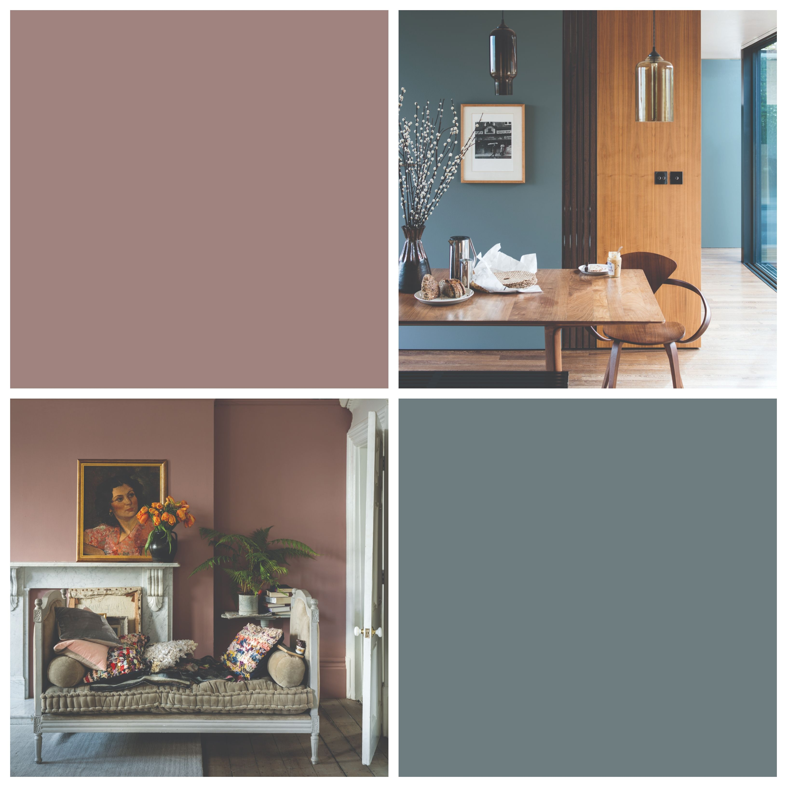 Farrow And Ball Colours 2019 De Nimes And Sulking Room