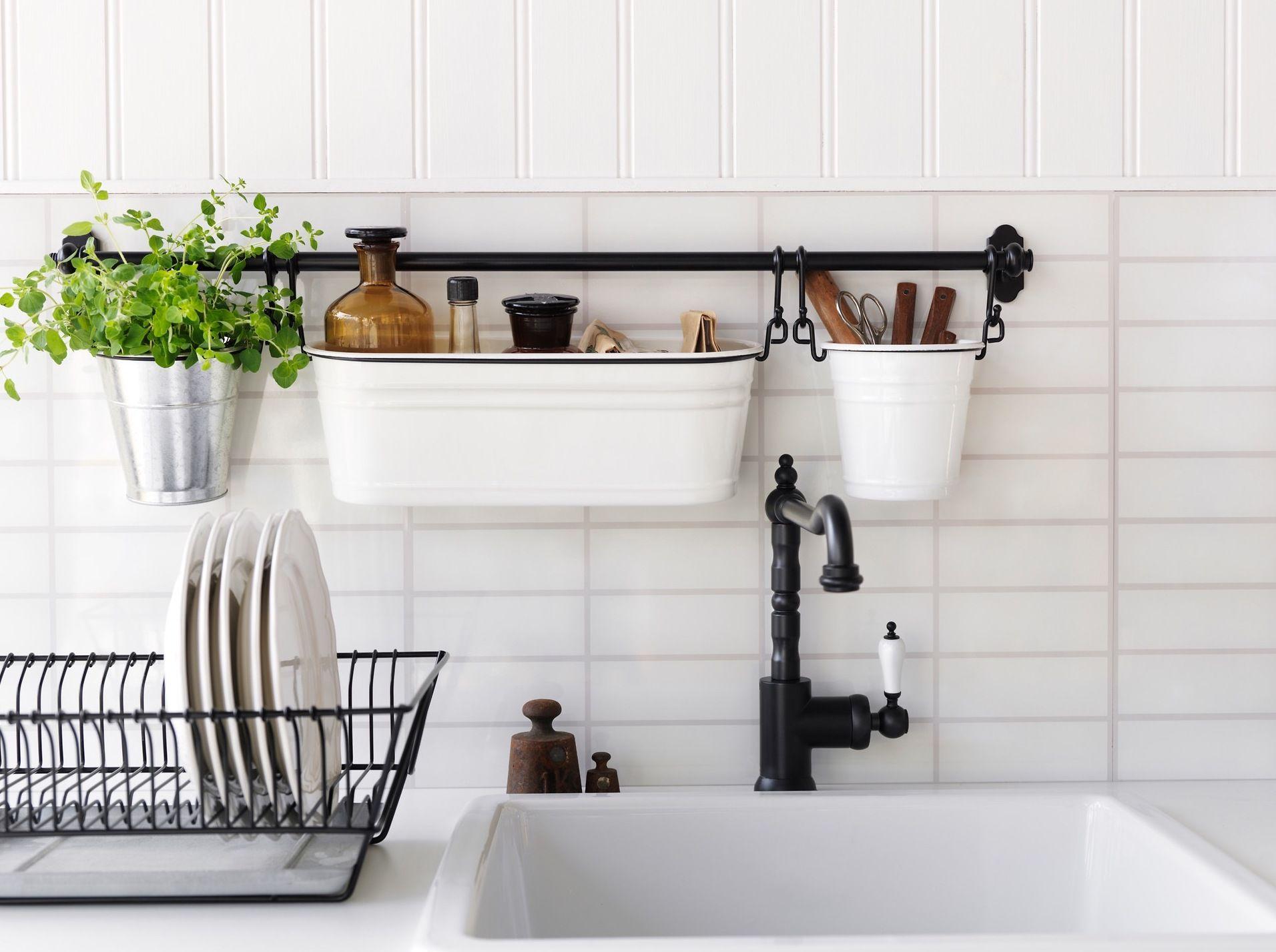 ikea kitchen inspiration wall storage