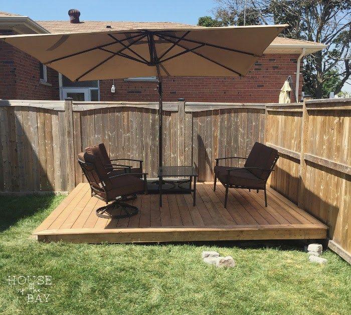12 diy floating deck ideas backyard