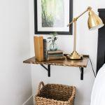 21 Diy Floating Nightstands Floating Shelf Nightstand Ideas