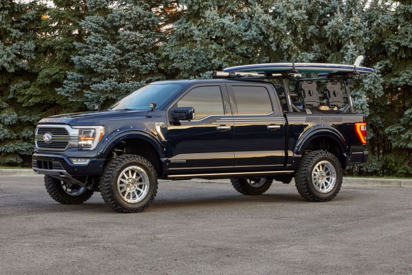 ford f 150 limited hybrid supercrew by bds concept