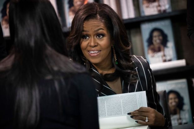 Image result for Michelle Obama's book Becoming set to become the best-selling memoir in history after nearly 10 million copies sold