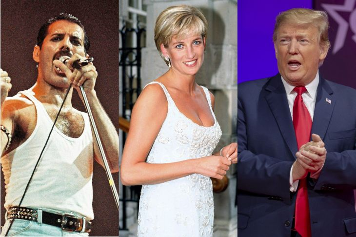 Image result for Princess Diana, Princess Margaret and President Trump