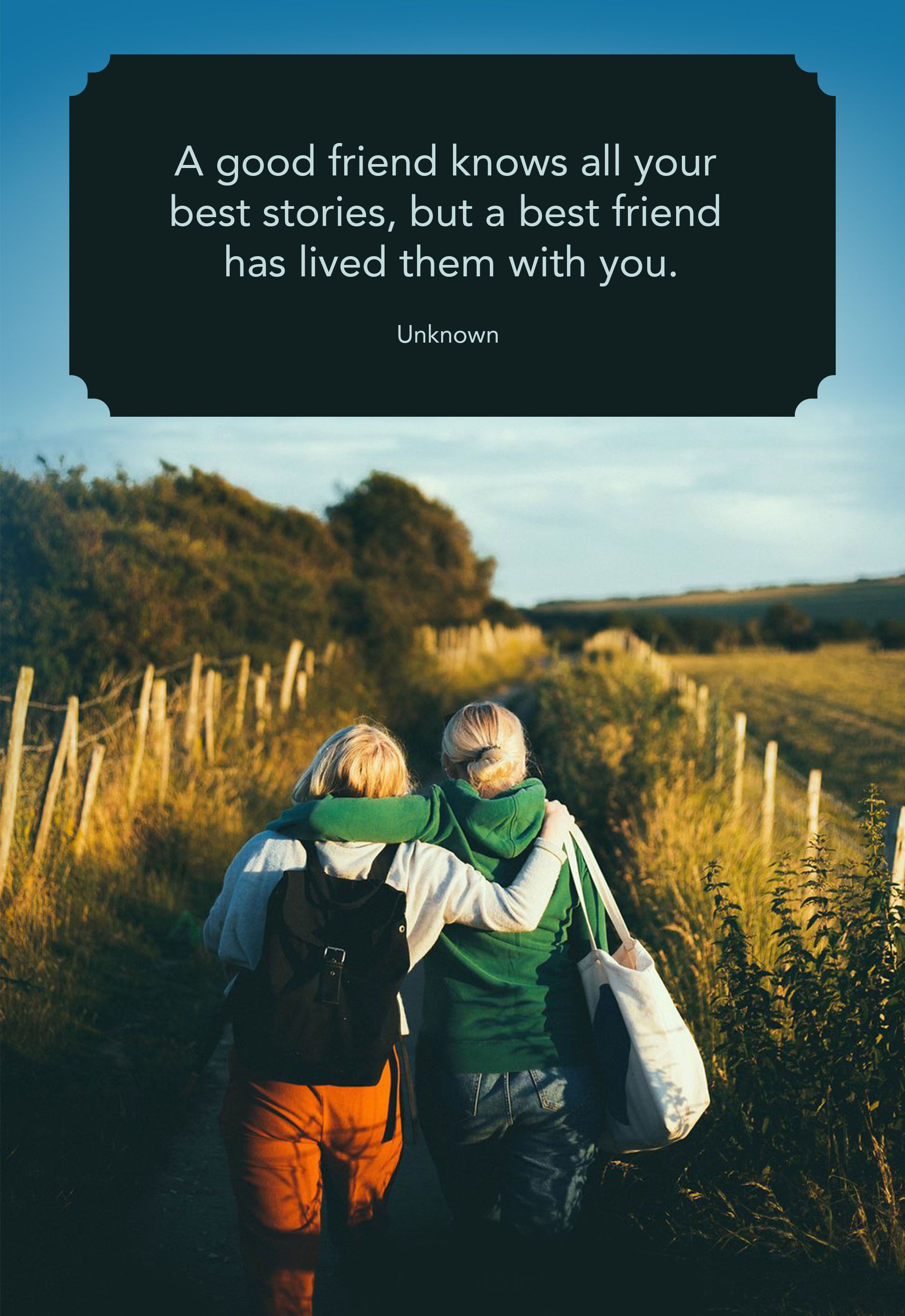 Image of: Cute Country Living Magazine 25 Cute Best Friend Quotes Short Quotes About True Friends