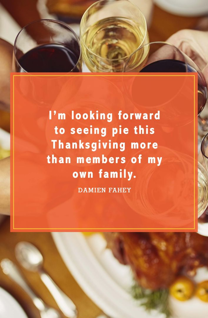 funny thanksgiving quotes damien fahey