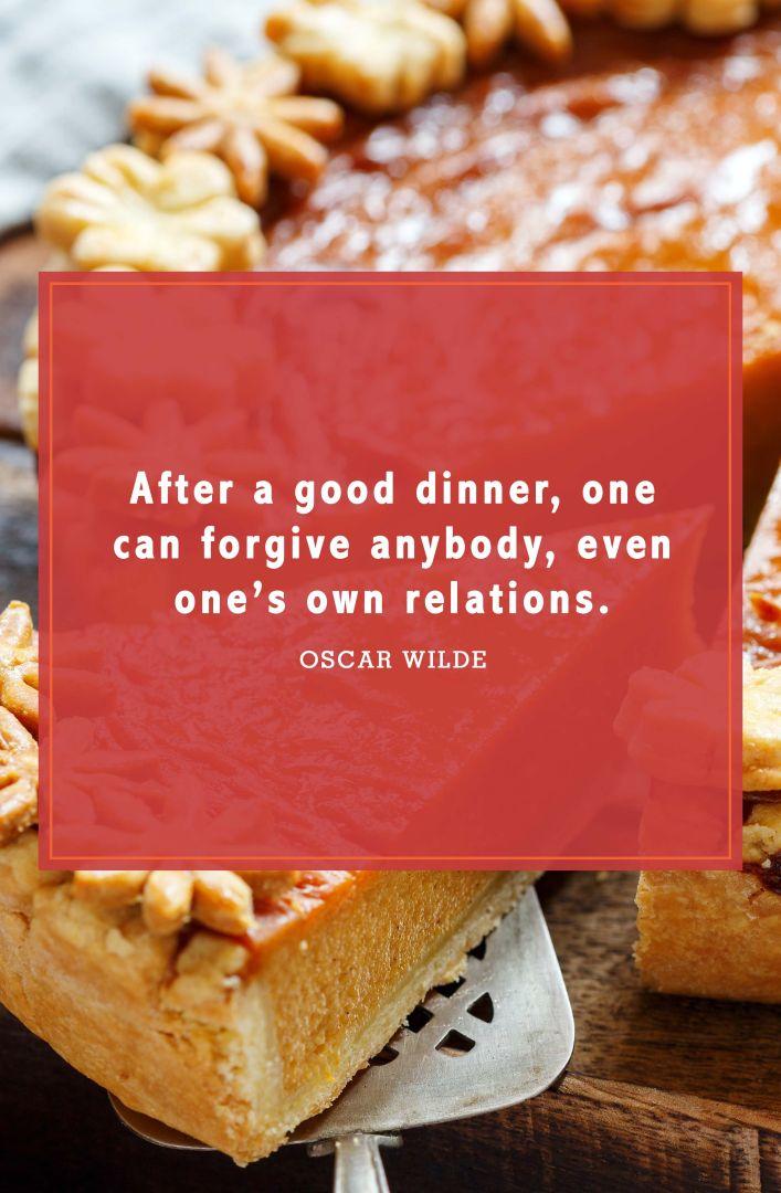 funny thanksgiving quotes oscar wilde