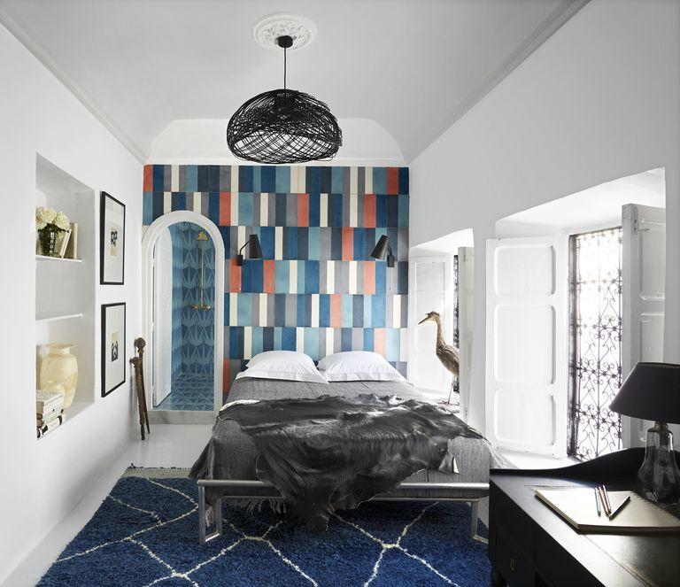 10 Geometric Wall Ideas Best Geometric Paint