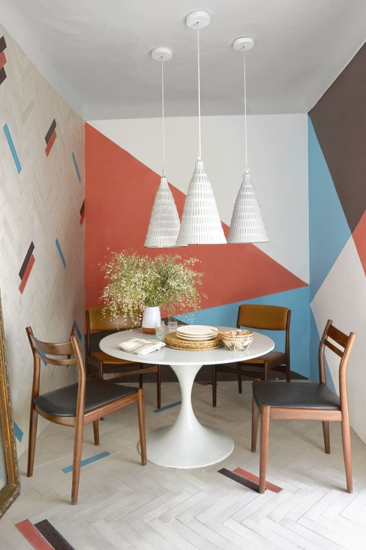 geometric wall ideas