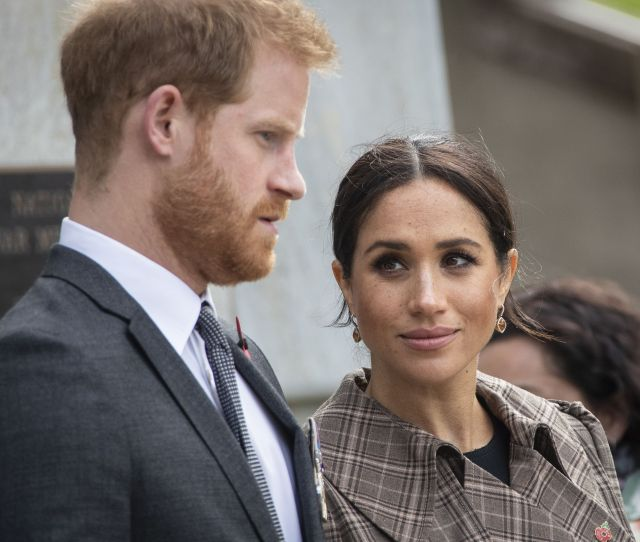 Prince Harry Is Reportedly Angry About Rumors That The Royal Staff Calls Meghan Markle Me Gain