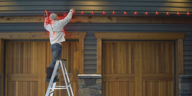 How To Hang Outdoor String Lights How To Put Up Christmas