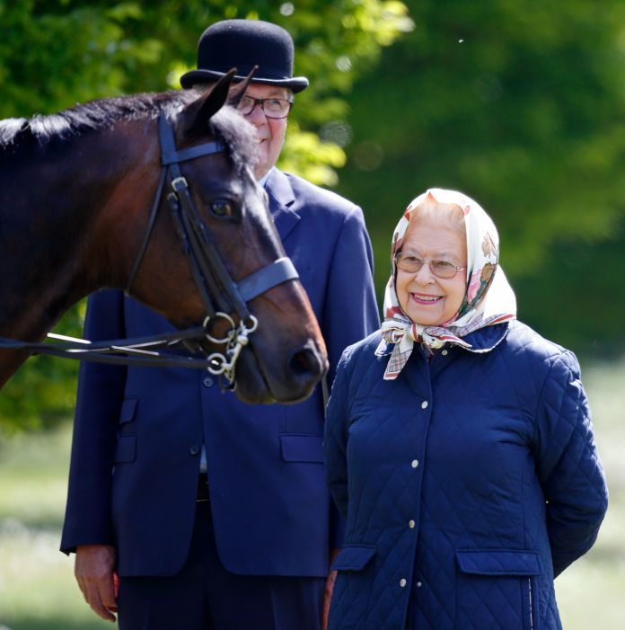 Windsor, United Kingdom May 10 embargoed for publication in British newspapers up to 48 hours after the date and time of the creation of Queen Elizabeth II attends Day 1 of the Royal Windsor Horse Show in Home Park on May 10 2017 in Windsor, England Photo by Max Mumbyindigogetty Images