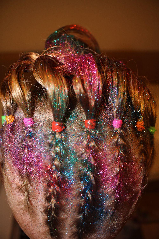 Glitter Braids