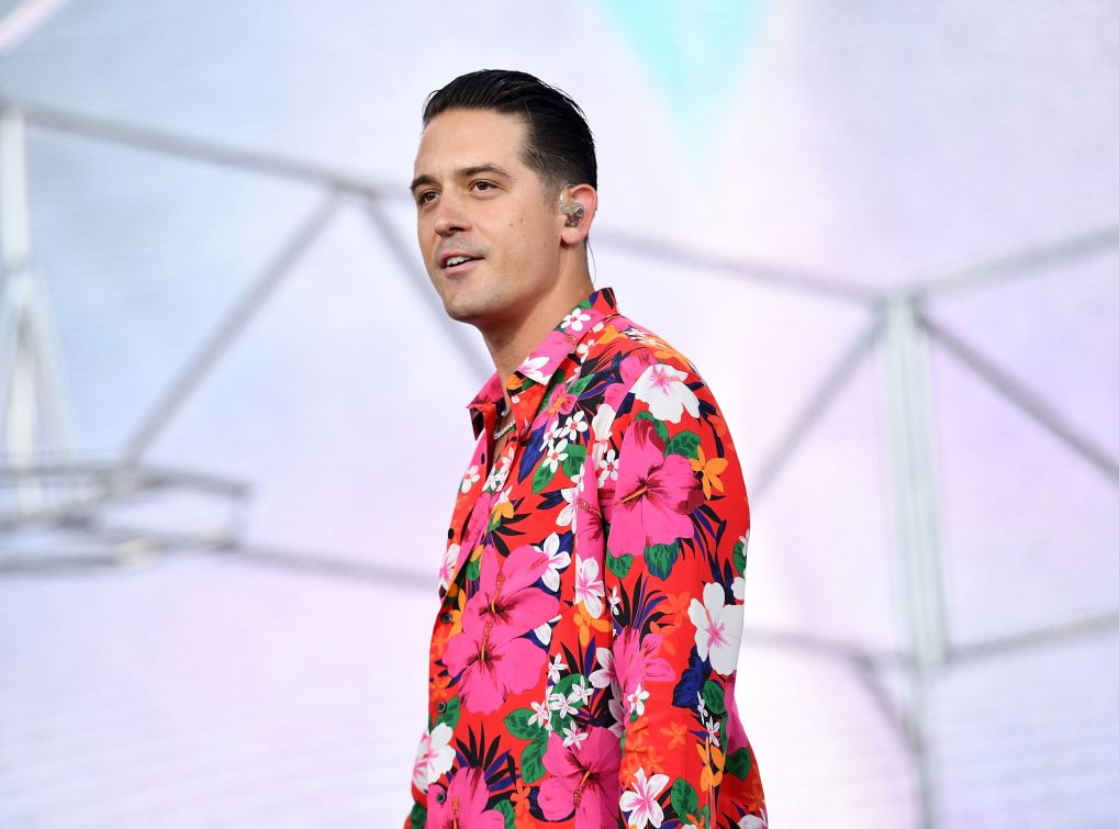 indio, ca   april 15  rapper g eazy  performs as a special guest on the coachella stage during week 1, day 3 of the coachella valley music and arts festival on april 15, 2018 in indio, california  photo by scott dudelsongetty images for coachella
