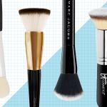 6 Best Foundation Brushes According To Beauty Experts Best Round Flat Angled Tulip And Paddle Foundation Brushes