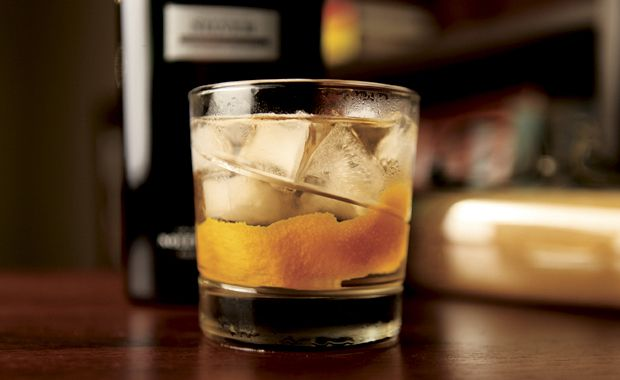 Happy Hour   A Gin Old Fashioned For The Old Man   Men s Health