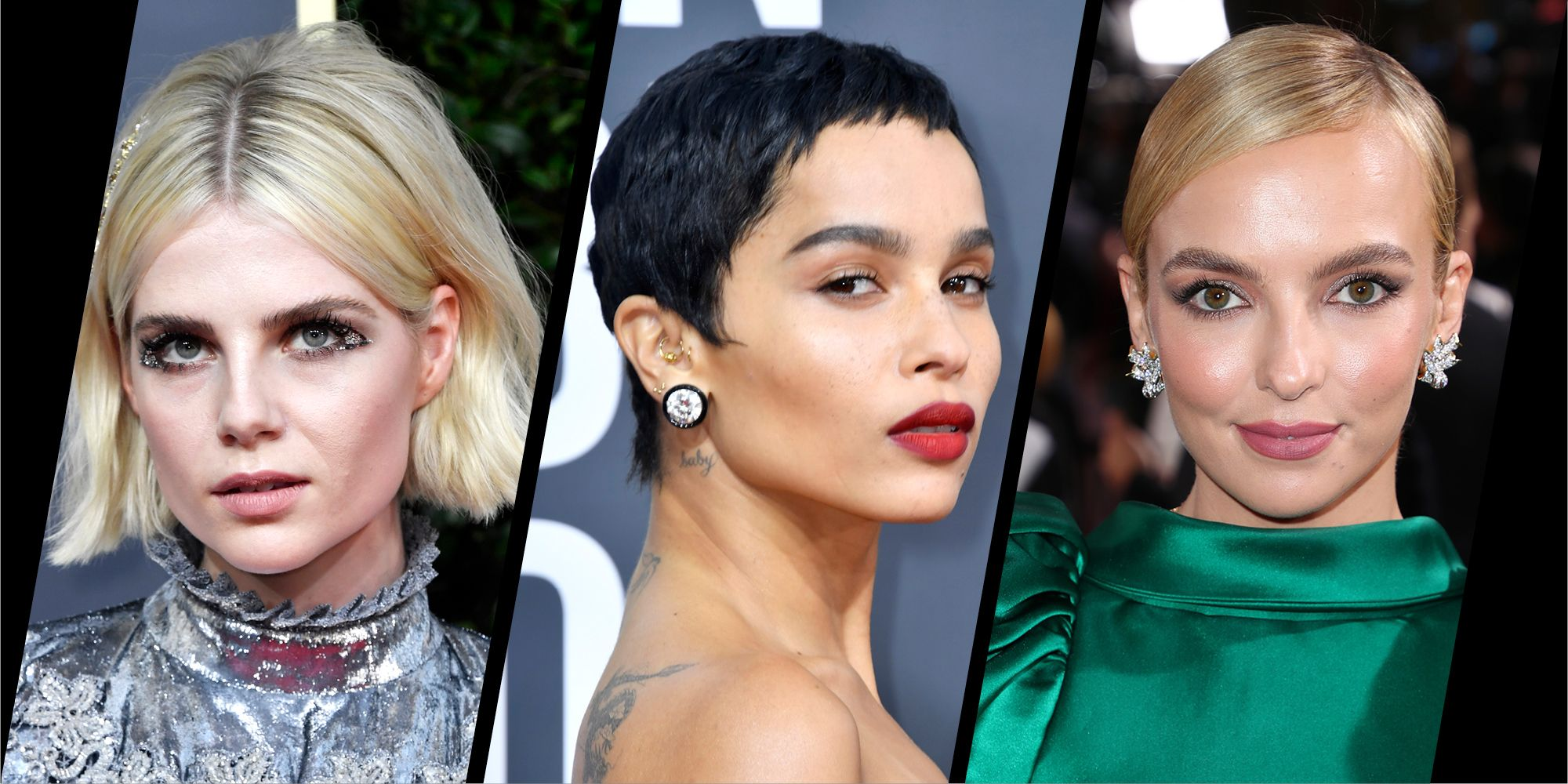 Golden Globes 2020 The Best Beauty Looks Hair And Make Up