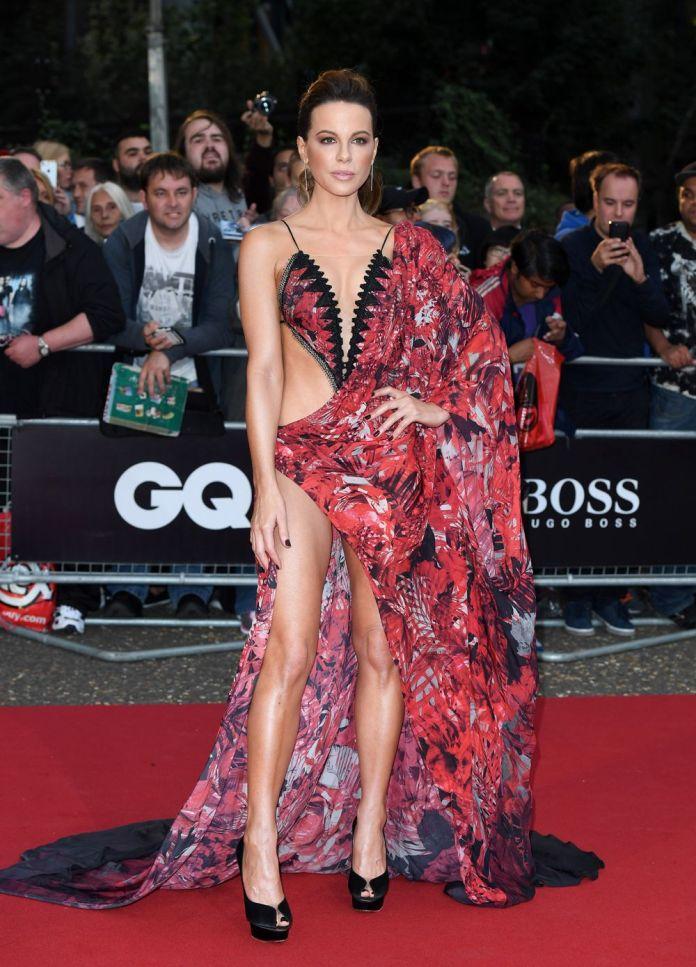 gq awards 2018 naked celebrity dresses